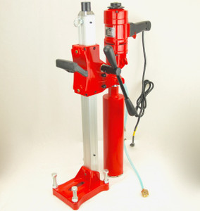 """4"""" Z1WS Concrete Core Drill w/ Stand + 2 Bits - PACKAGE DEAL"""