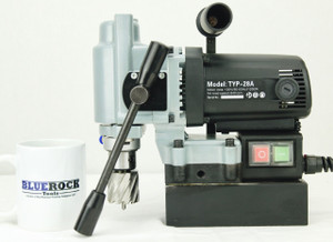 BLUEROCK TYP-28A Mini Compact Magnetic Drill Press Small Mag