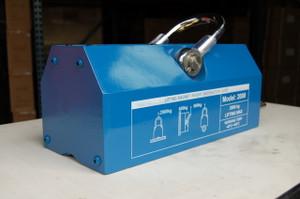BLUEROCK Magnetic Lifter 2000 KG - 4400 lbs Steel Slab Plate Mag Lifting Magnet Crane Hoist