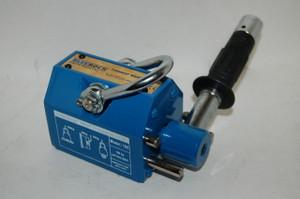 BLUEROCK Magnetic Lifter 100 KG - 220 Lbs Steel Slab Plate Mag Lifting Magnet Crane Hoist