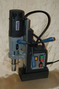 BLUEROCK BRM-60A-B Magnetic Drill Press - 2-Speed Reversible Typhoon Mag Drill