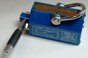 BLUEROCK Magnetic Lifter 300 KG - 660 Lbs Steel Slab Plate Mag Lifting Magnet Crane Hoist