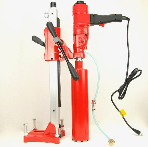 """BLUEROCK 4"""" Z1WS Concrete Core Drill With Stand"""