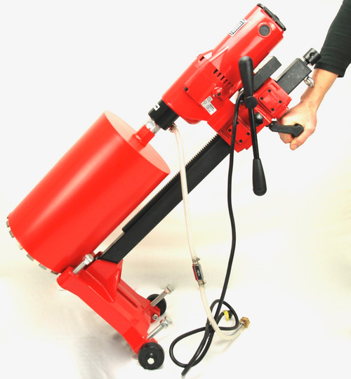 "BLUEROCK 10"" Z1RB Concrete Core Drill w/ Stand & Rolling Base"