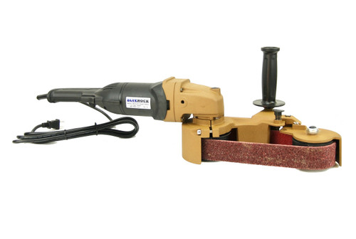 BLUEROCK Model 40B Pipe Sanding Polishing Machine Stainless Grinder Belt Sander Polisher