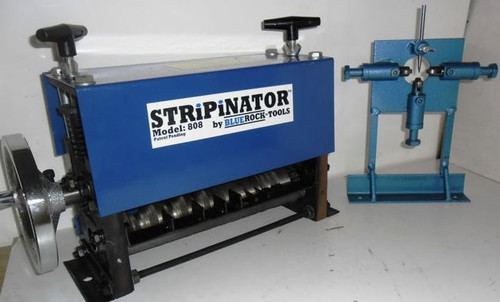 BLUEROCK STRiPiNATOR MWS-808 & W-L100 Wire Stripping Machine - Combo Deal