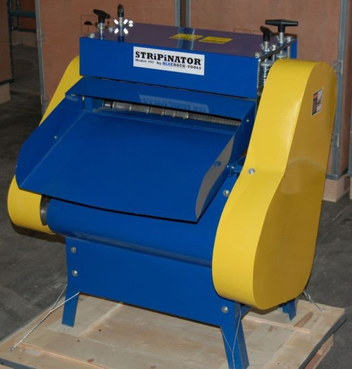 BLUEROCK Model 945-VS Variable Speed Wire Stripping Machine