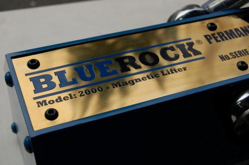 BLUEROCK Magnetic Lifter 2000 KG - 4400 lbs Mag Lifting Magnet