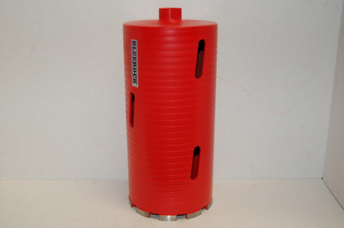"BLUEROCK DRY Type 4"" Diamond DRY Coring Bit - Concrete Core Drill"