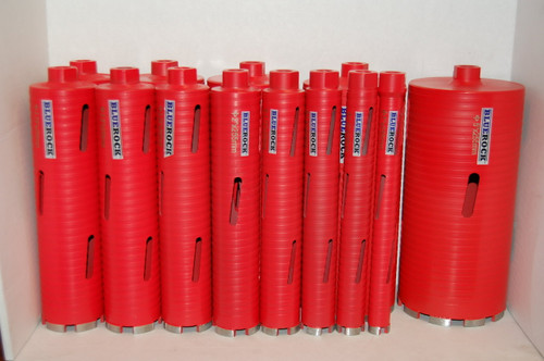"BLUEROCK DRY Type 13 pc 1""-5"" Set Diamond Coring Bit Concrete Core Drill - PACKAGE DEAL"