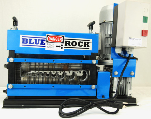 BLUEROCK MWS-808PMO Motorized Copper Wire Stripping Machine