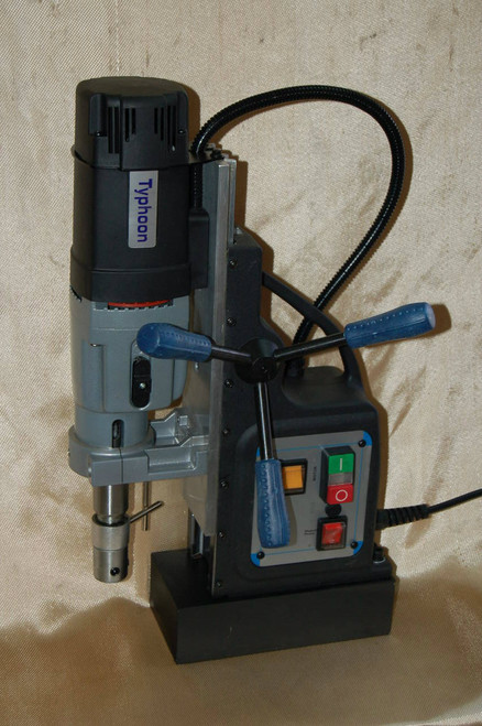 BLUEROCK BRM-60A-B Magnetic Drill - Typhoon Mag Drill