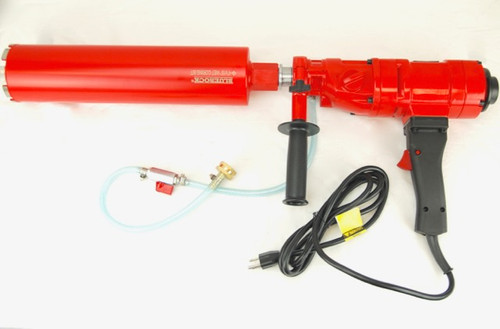 "BLUEROCK 4"" Z1 Concrete Core Drill & 2 Core Bits - PACKAGE DEAL"