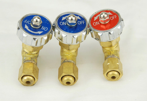 Replacement Oxygen & Gas Valves for CG-30, CG211, CG-211Y Cutting Torches