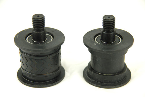 BLUEROCK 40A Replacement Secondary Plastic Wheel & Bearing Set of 2