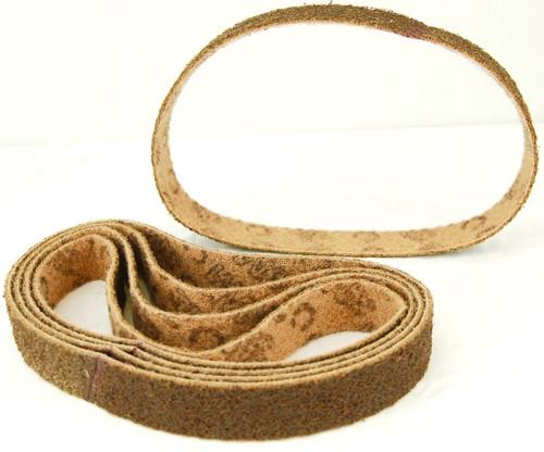 BLUEROCK Pack of 5 COARSE GRIT Scotch Brite Type (3M Style) Sanding Belts for Model 40A
