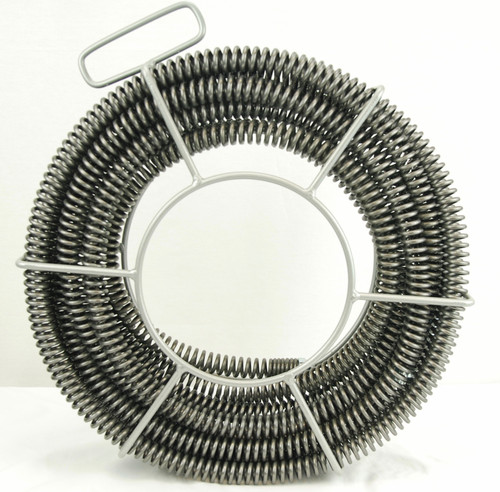 "BLUEROCK 7/8"" x 45' Sectional Pipe Drain Cleaning Cable & Carrier fits RIDGID K60 A-62 C10 Cable"