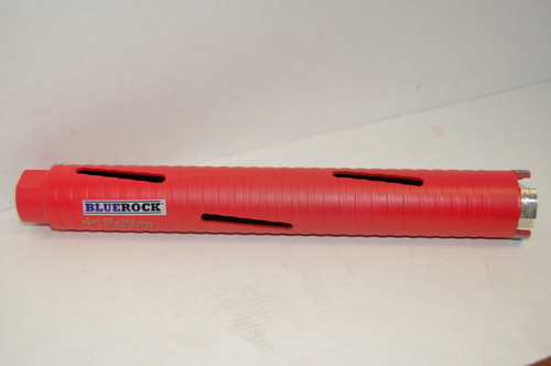 "REFURB BLUEROCK DRY Type 1.5"" Diamond DRY Coring Bit - Concrete Core Drill"