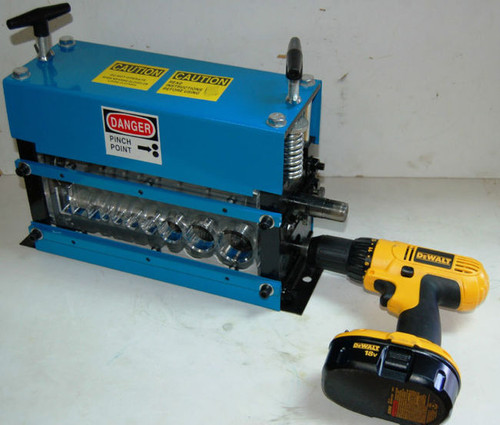BLUEROCK STRiPiNATOR MWS-808PD Wire Stripping Machine