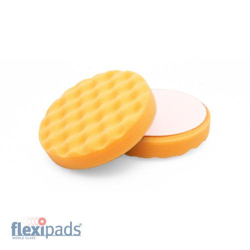 """130mm (5.5"""") Waffle Orange EVO+ medium compounding"""