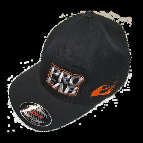 ProFab Logo Hat - Flex Fit, Black