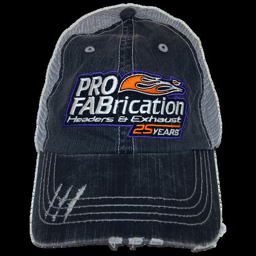 ProFab Hat, 25 Years Logo, Gray/ Lt. Gray Adjustable