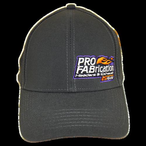 ProFab Hat, 25 Years Logo, Gray Adjustable