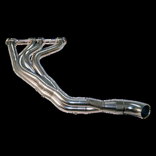 Asphalt Modified 18 Deg Chevy Exhaust Header