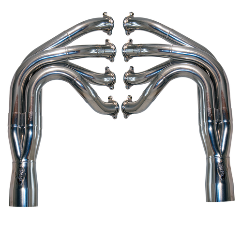 """Top Dragster 2.375""""-2.5"""" Stepped, Stainless Steel Exhaust Header"""