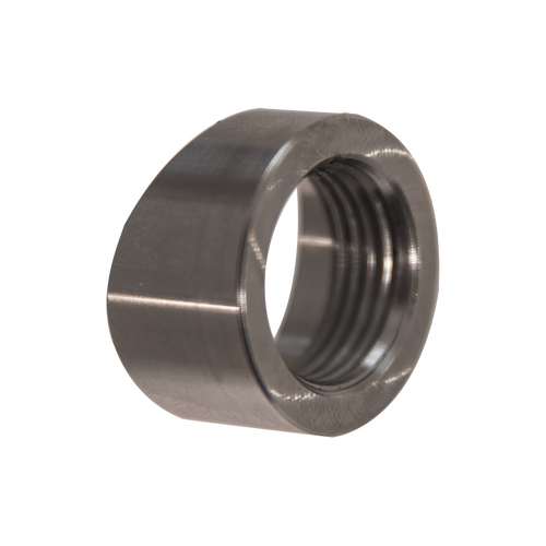 Stainless Steel angle cut O2 Bung