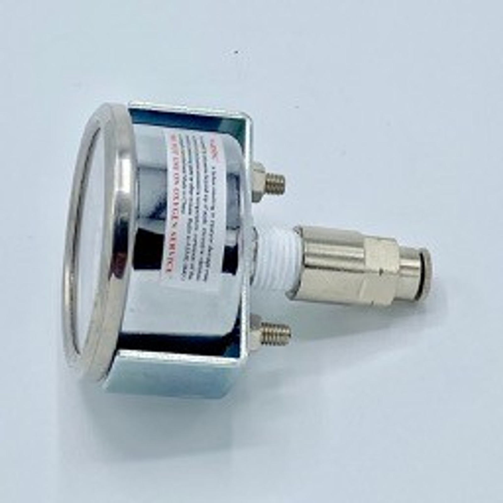 Gen 1.3/3 - Replacement Pressure Gauge Assembly WITH FITTING AND TEFLON TAPE