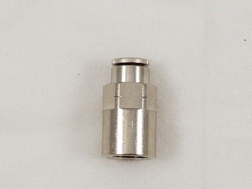 Straight Female Connector (1/4 1/4)