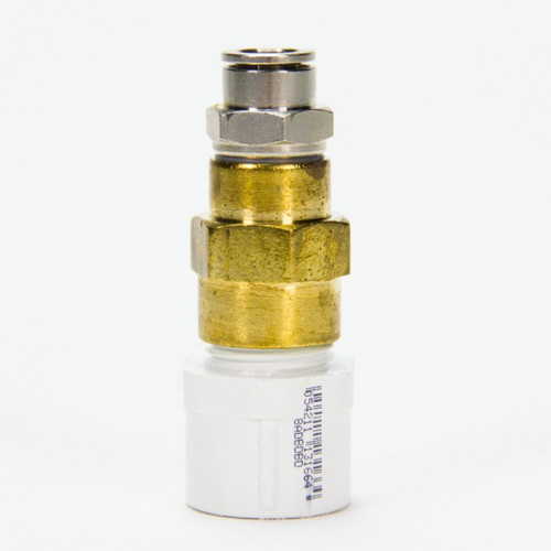 3/8 Tube x 1/2 PVC Adapter