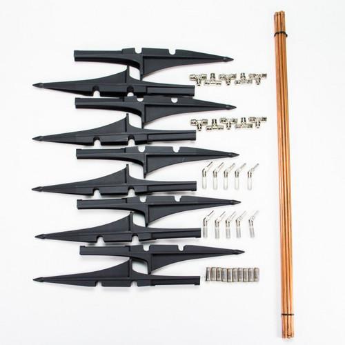 "Nickel Plated 30"" Riser Kit (10 pack)"