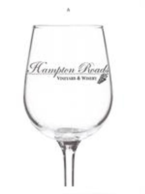 Hampton Roads Winery Stemmed Glass
