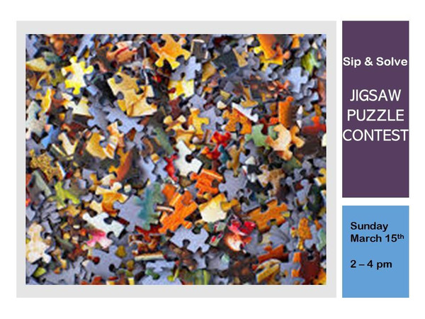 Sip & Solve Jigsaw Puzzle Contest