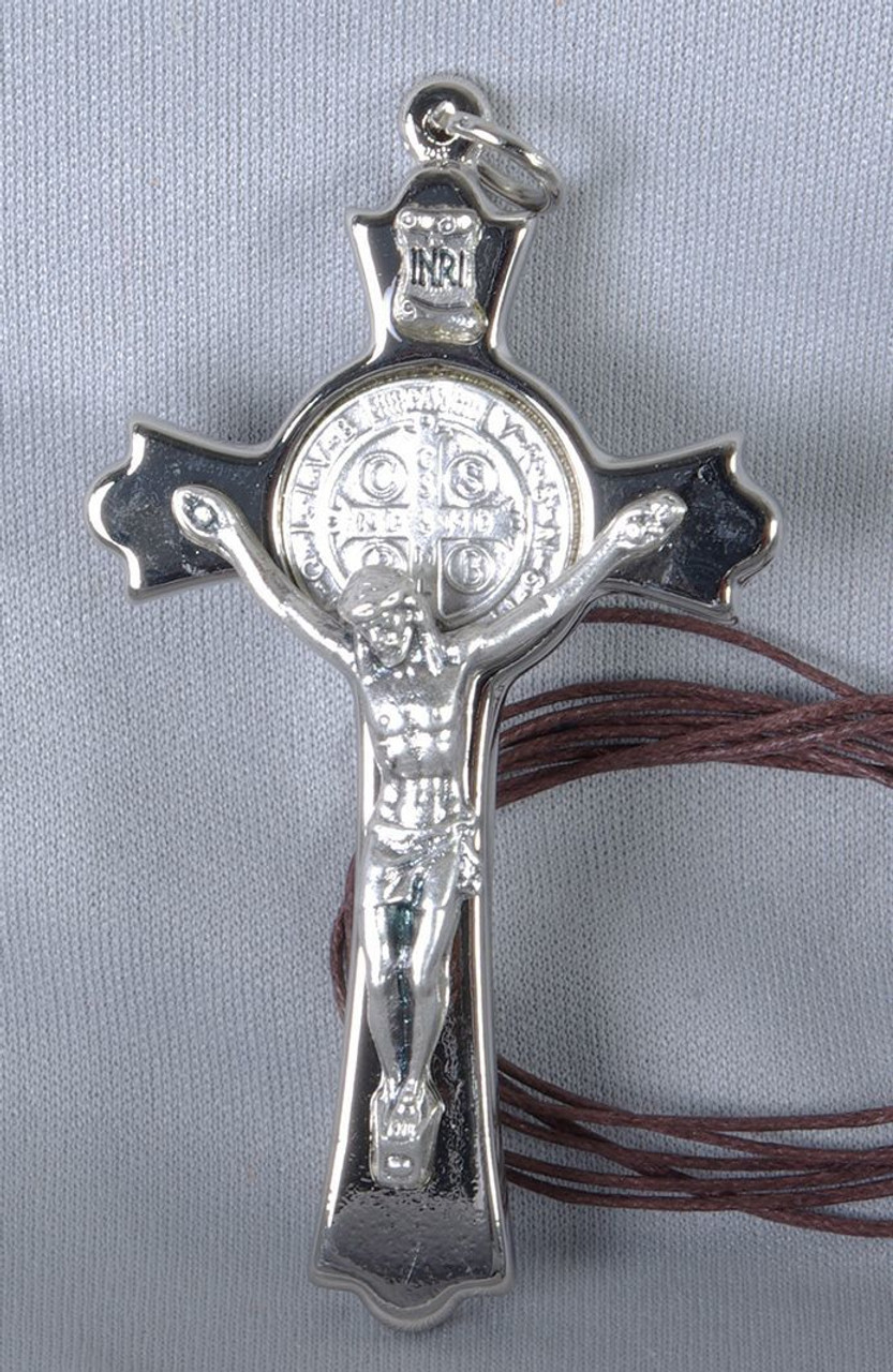 3 Saint Benedict Crucifix Pendant