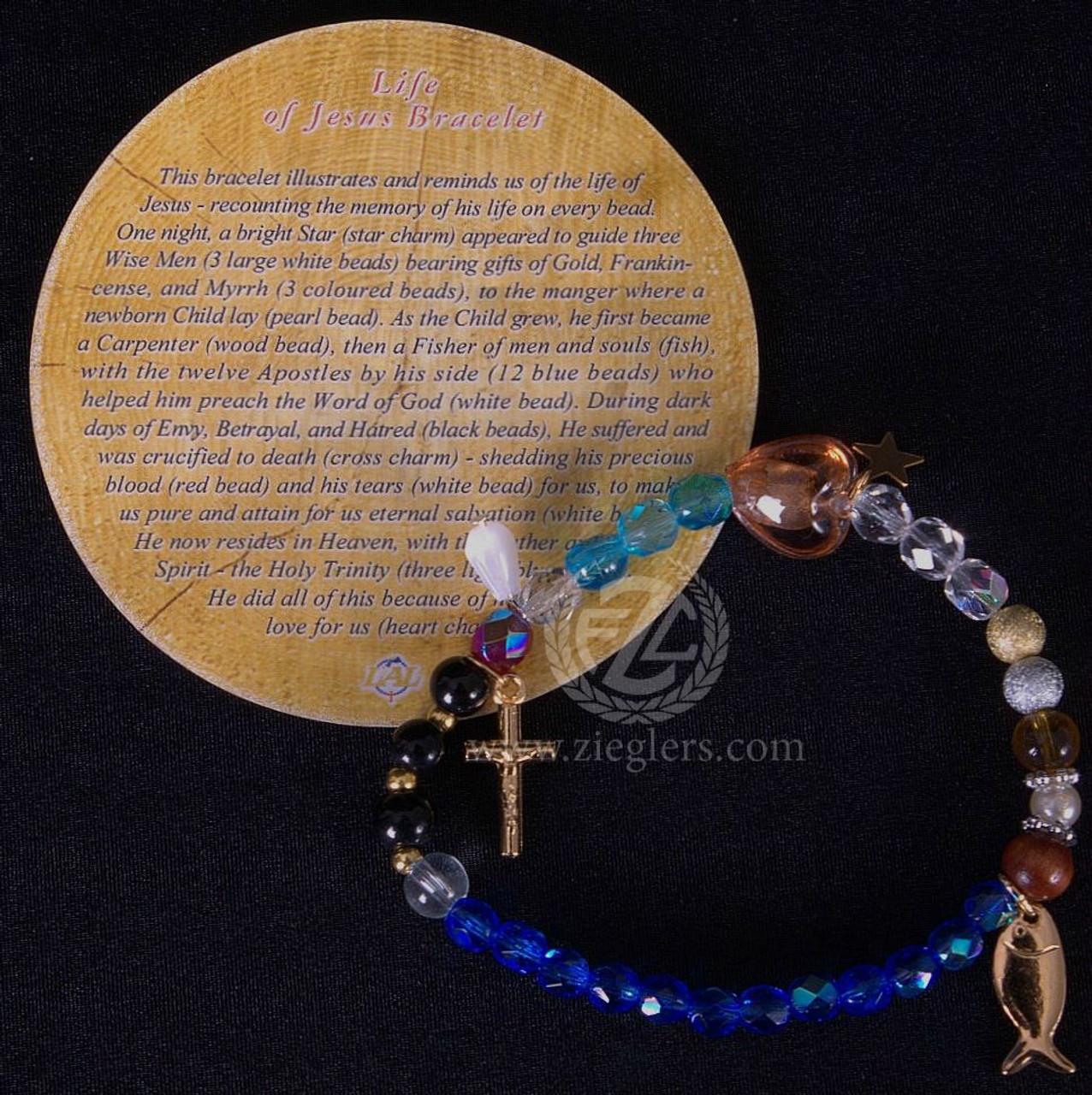 Beaded Life of Christ Bracelet