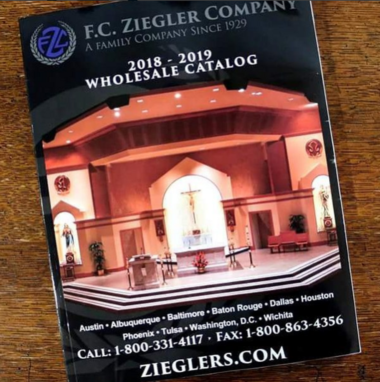 2018 FC Ziegler Co Church Goods Catalog