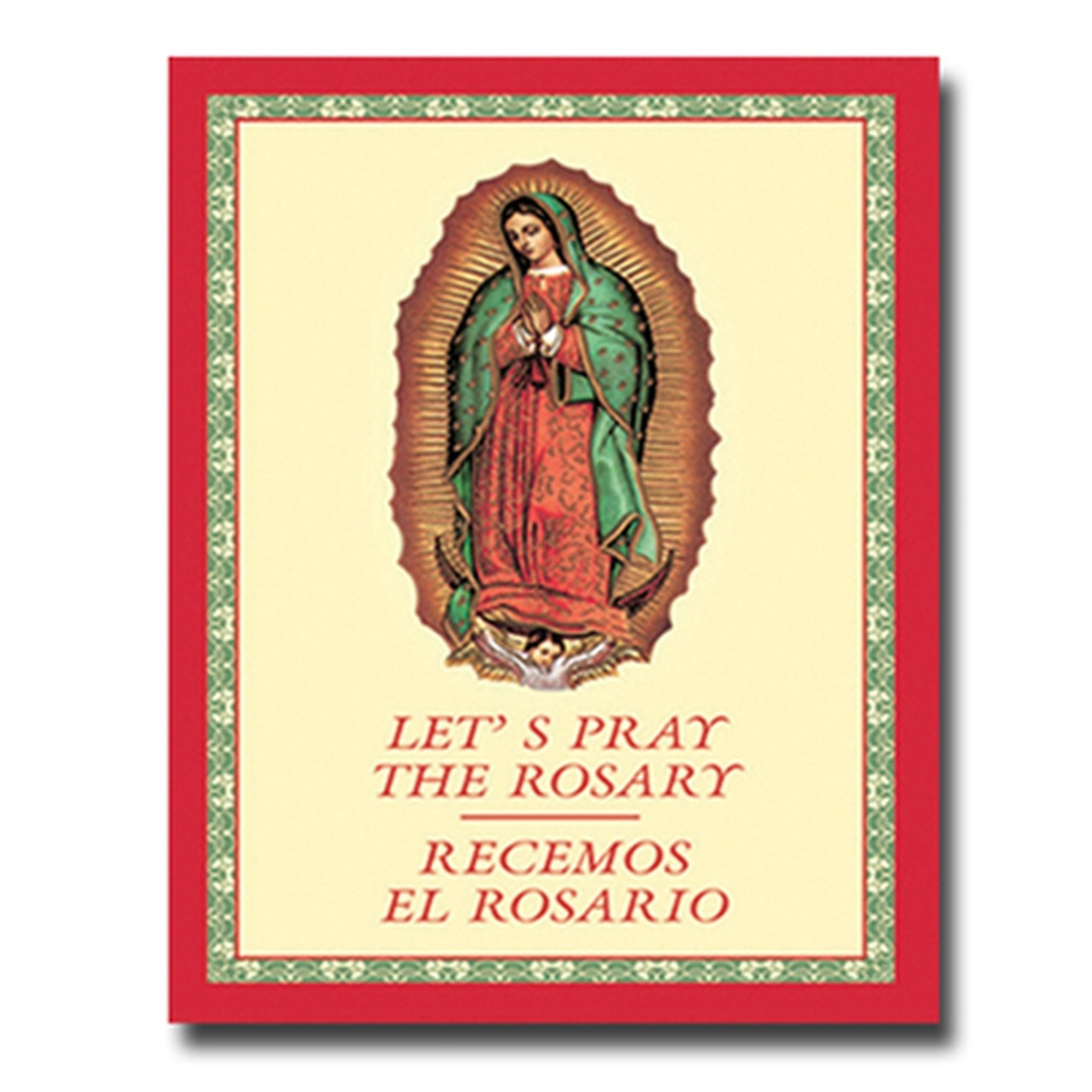 picture about How to Pray the Rosary Printable Booklet named Will allow Pray the Rosary Recemos El Rosario Bilingual Paperback Ebook 17SE