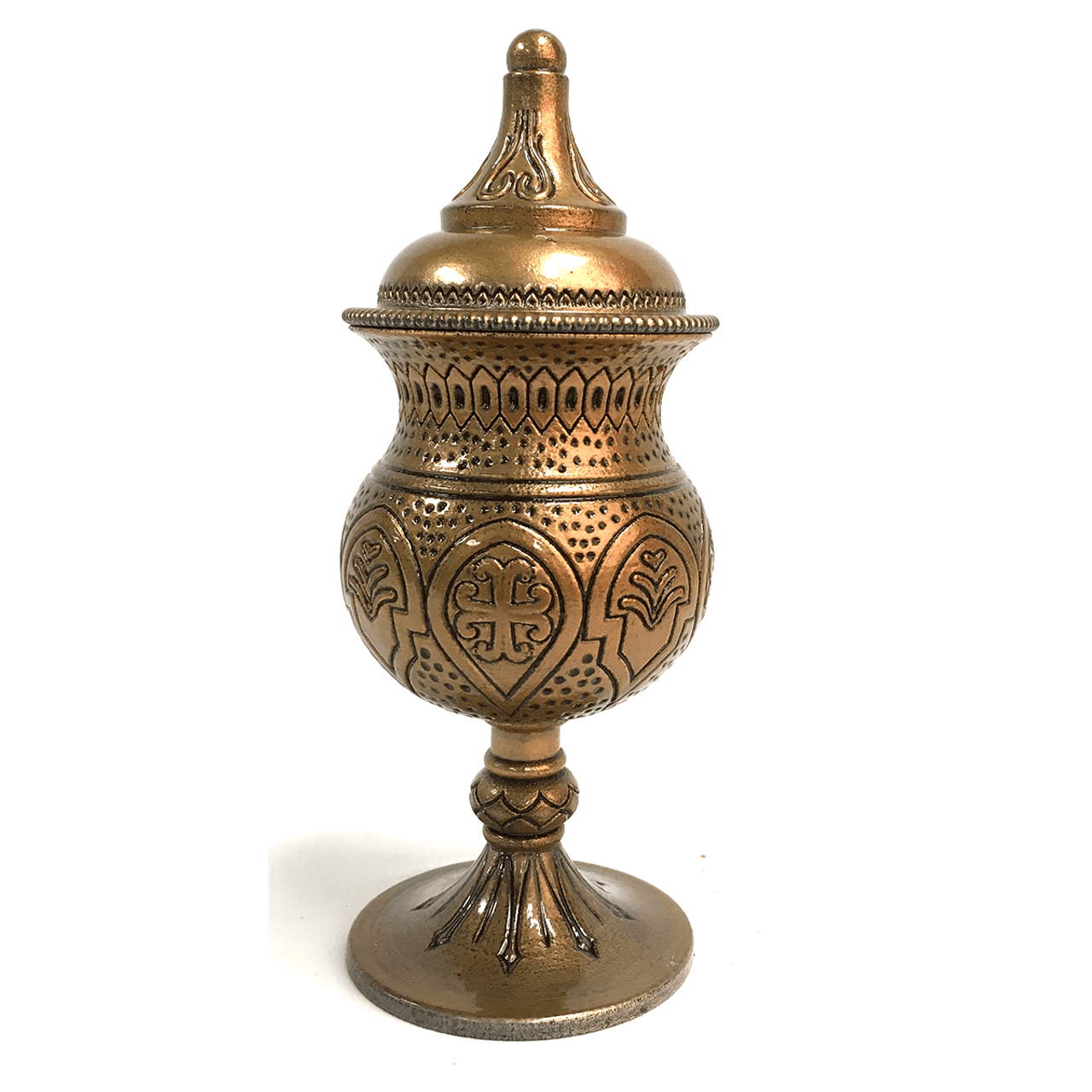 Holy Oil Stock | Cast Resin | Gold Plate Brass Liner | USA