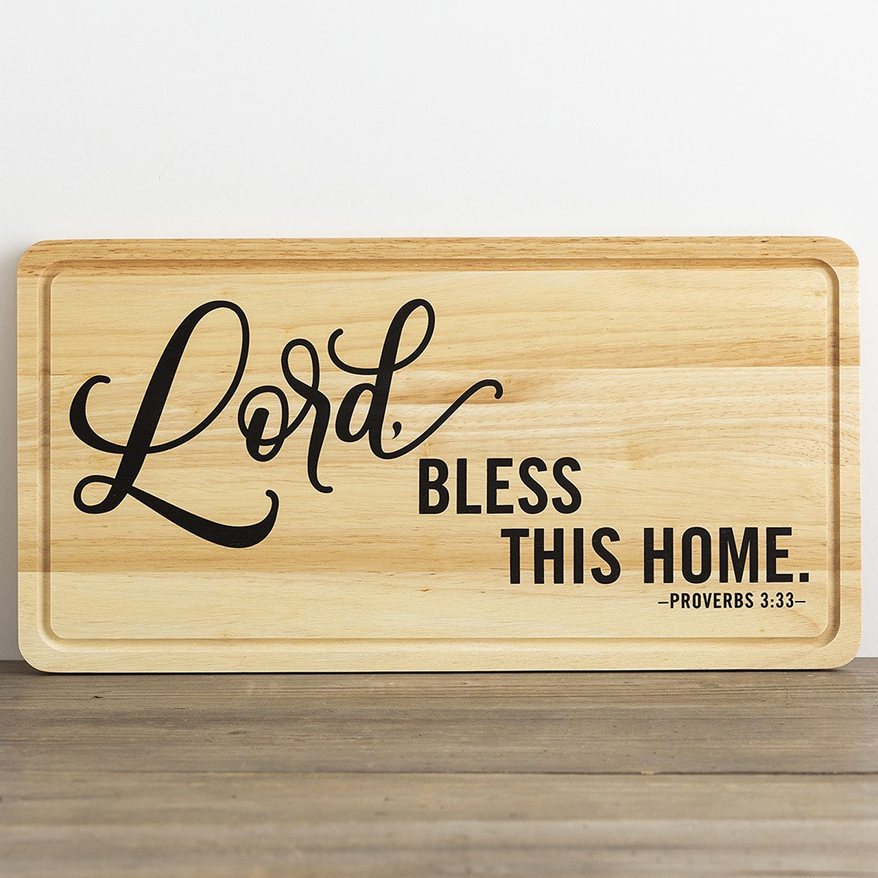 Bless This Home Decorative Cutting Board Wall Art 90901 F C Ziegler Company