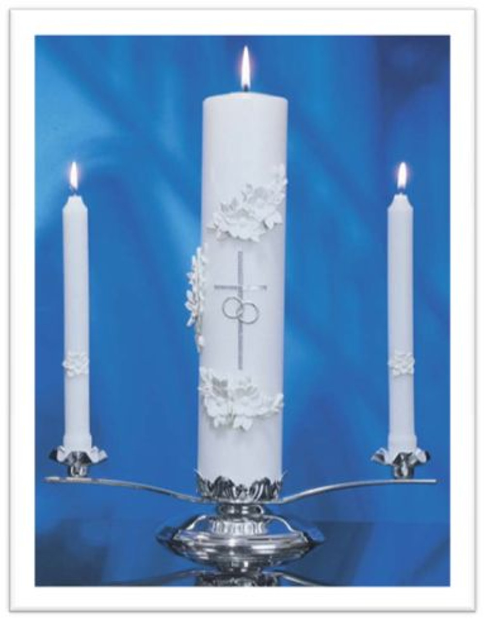 DEVOTIONAL HOLY PILLAR CANDLE OUR LADY OF FATIMA