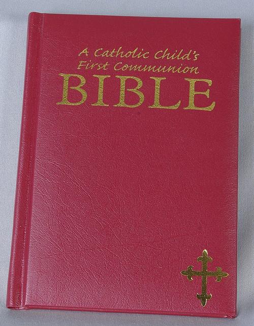A Catholic Child S 1st Bible Gift Edition F C Ziegler