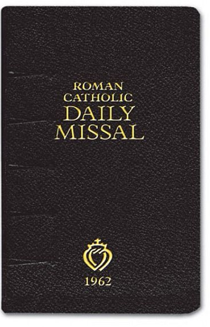 Roman Catholic Daily Missal - 1962