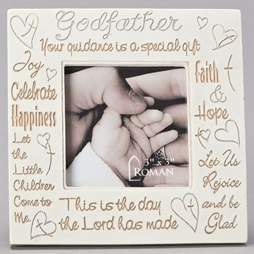 Godfather Frame | Inspirational Phrases Collage | 3x3 Photo | Resin | 92318