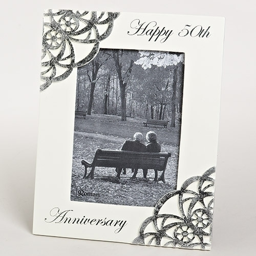 50th Anniversary Gift Frame 5 X 7 Photo 10375 Fc Ziegler