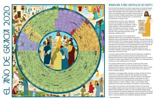 Poster Calendario 2020.2020 Year Of Grace Liturgical Calendar Poster Large