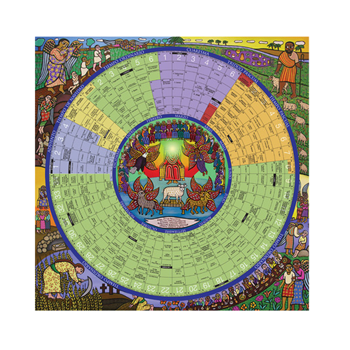 Catholic Church Calendar 2022.Sold Out 2021 Year Of Grace Liturgical Calendar Poster Small Laminated 11 X 17 F C Ziegler Company