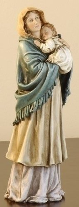 Kitchen Madonna Statue Tools In Hand Vibrant Colors 9 1 4 Resin 603065 F C Ziegler Company